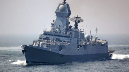 印度又一艘神盾舰下水,造价超055,局座作四字评价