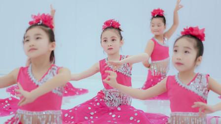少儿舞蹈《傣家的小妹走过来》,可爱、天真是孩子们最好的礼物!