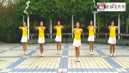广场舞《美美哒》,歌曲动感好听,舞蹈简单欢快,一起学学吧