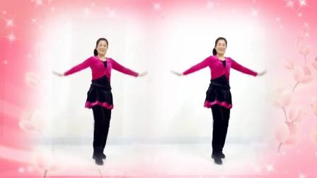 自由舞步32步广场舞《拥抱你离去》简单动感步子舞附分解!