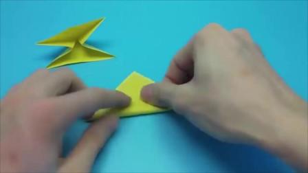 创意手工:折纸指尖陀螺, 旋速快, 好玩