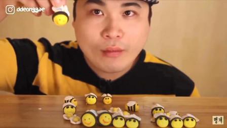 """韩国吃货donkey弟弟的""""翻车现场""""!网友:真可爱,都被你圈粉了"""