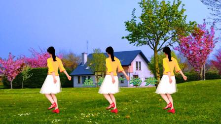 广场舞《幺妹住在十三寨》简单优美,背面示范教学,一起来跳吧