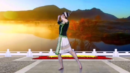 中国民族舞教学 美丽镇远苗族侗族舞教程分解