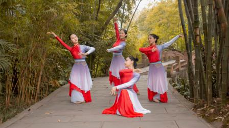 充满书香气息的中国舞《书简舞》,简单易学!