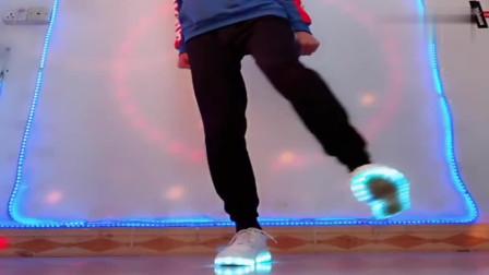 舞步达人教你们跳基础鬼步舞,慢动作教,简单好学!