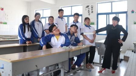 老师用偷吃早餐案件,套路学生们,迟到的两憨货一脸懵,太搞笑了