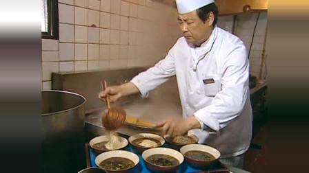 蔡澜品尝特色美食,奥灶面