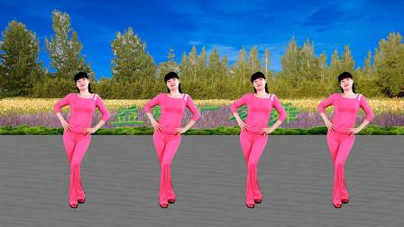 点击观看《广场舞32步初级好学 伤不起舞蹈简单大方》