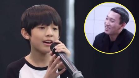 天籁童声!11岁中国小男孩翻唱《去流浪》,惊呆韩国著名声乐老师