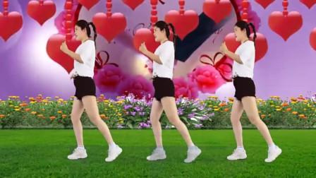 广场舞《心跳》经典入门32步,简单欢快,时尚美观!