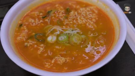 韩国辛拉面了解一下,韩剧里出境最高的美食