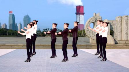 入门广场舞32步舞步大全 玫香广场舞学跳等哥有了钱舞蹈