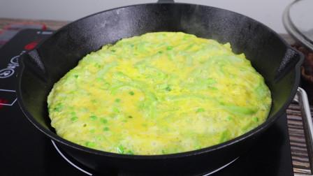 吃货主意多,苦瓜拿来烘蛋,简单好做味道好,值得一试