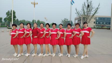集体广场舞东北大秧歌 简单喜庆好学健身扇子舞