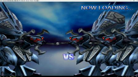 作死模式:1个宇宙正义机器人VS2个宇宙正义机器人,开局就被打哭