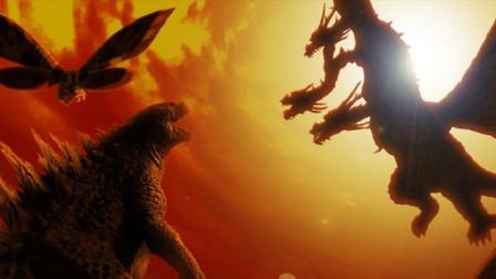 《哥斯拉2:怪兽之王》今日上映,来看四大怪兽互殴