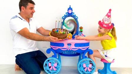 萌宝成长囧事!爸爸忘记了小萝莉的生日!