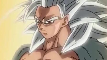 七龙珠:悟空再次进化,这一次头发都白了!