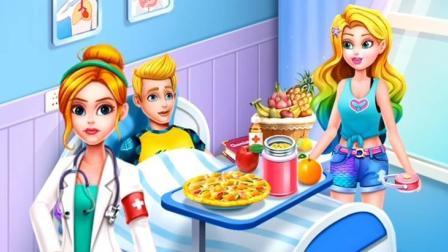 魔法奇缘游戏,长发公主救了王子,为他做美食,结果?