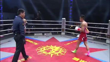 中国小将开局示好,日本拳王却玩偷袭,气的两拳KO教他做人