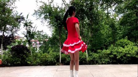 广场舞36步步子舞 金盛小莉潇洒学跳中老年人健身舞蹈