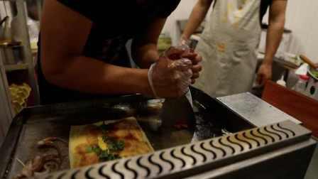 退伍军人开烤冷面店:自己本身就是个吃货,把家乡特色带出来