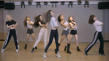 女团CLC回归舞蹈练习,满屏的大长腿,猫猫太酷了