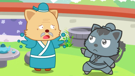 猫小帅故事猎人海力布