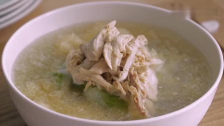 《韩国农村美食》一个人的午餐,夏季健康食品,看着很有食欲