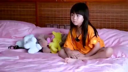蔡少芬两个女儿粤语吵架,就是两个小萌物,太可爱了