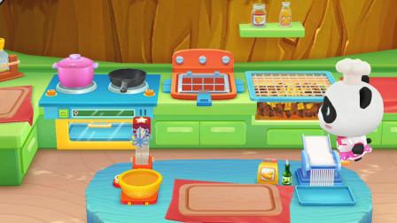 宝宝巴士之145 奇妙美食餐厅 宝宝巴士动画片 亲子益智游戏 宝宝巴士大全