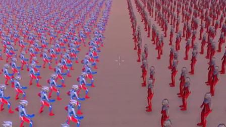 史诗战争模拟器:8000个赛罗奥特曼挑战3000个赛文,结局气死人!