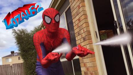 蜘蛛侠与死侍的日常:常常因为小摩擦大打出手