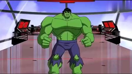 奥创这么强吗?竟直接让绿巨人变成了班纳博士