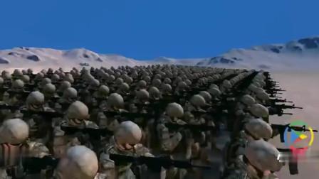 史诗战争模拟器:迪迦奥特曼VS1000名美军,谁能胜利
