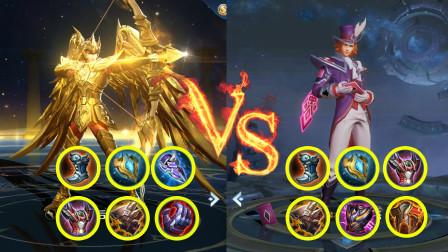 王者荣耀:后裔vs狄仁杰,狄仁杰:800斤重的后羿,果然很强势!