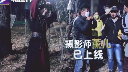 斗破:吴磊的卖萌五连拍,林允儿笑坏了!一起看看吧!