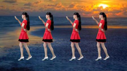 点击观看《好学0基础广场舞32步我在梦中想着你 阳光香果广场舞带着大家跳》
