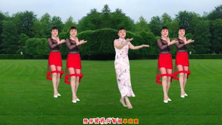 点击观看《华美舞动想你就能梦见你广场舞 32步附教学》