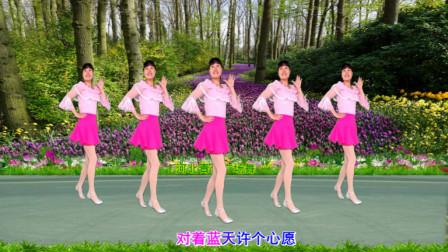 点击观看《32步广场舞教学春暖花开 河北青青广场舞分解》