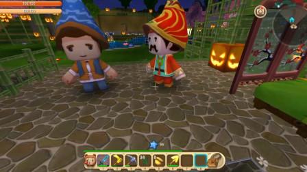 迷你世界回声解说第二季99:召唤商人  各类商人庄园聚会