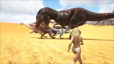 模拟霸王龙方舟的生存进化试验