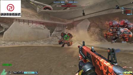 剑剑带你看游戏穿越火线挑战模式新巨人城废墟第十四关讲解