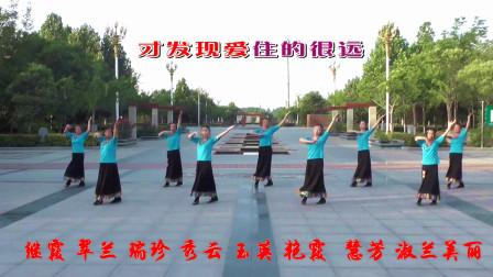 0基础好学集体舞梦见你的那一夜 艳霞广场舞带你跳广场舞