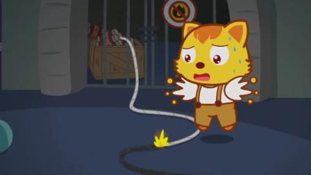 貓小帥故事撒尿的小英雄