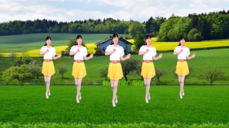 点击观看《32步广场舞教学妹妹的眼睛水汪汪 河北青青中老年舞蹈教学》