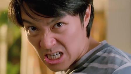 论扮演李小龙只服星爷, 瞧给哥哥的一顿打, 真是学得像模像样的!