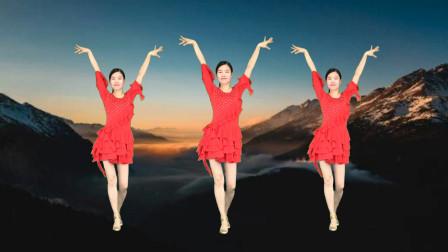 广场舞《最亲的人》简单恰恰 32步健身操!
