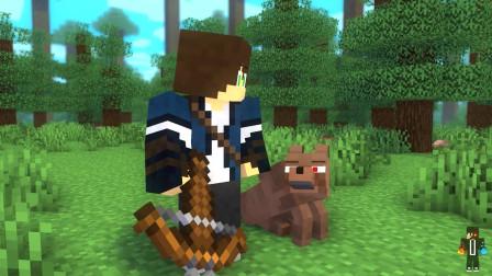 豹猫和狼生活的 - Minecraft动画